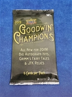 Dead Pack 2019 Goodwin Champions