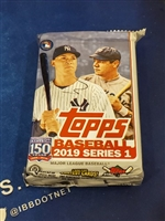 Dead Pack 2019 Topps Jumbo Series One Baseball