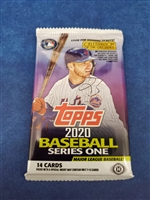 Dead Pack 2020 Topps Hobby Series One
