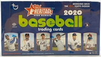 Dead Pack 2020 Topps Heritage High Number Hobby