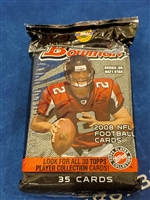 Dead Pack 2008 Bowman Football