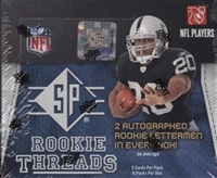Dead Pack 2008 SP Rookie Threads Football