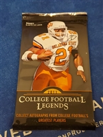 Dead Pack 2011 College Legends Football