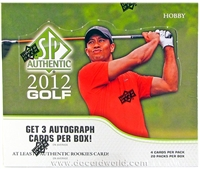 Dead Pack 2012 SP Authentic Golf