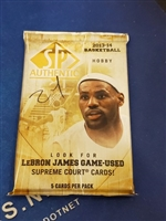 Dead Pack 2013-14 SP Authentic Basketball