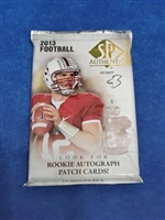 Dead Pack 2013 SP Authentic Football