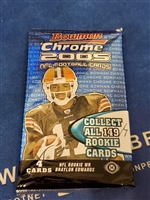 Dead Pack 2005 Bowman Chrome Football