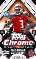 Dead Pack 2015 Topps Chrome Football
