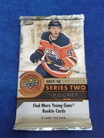 Dead Pack 2017-18 Upper Deck Series Two