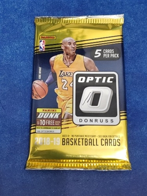 Dead Pack 2018-19 Optic Fast Break Basketball
