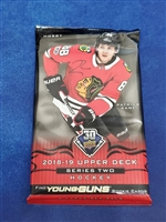 Dead Pack 2018-19 Upper Deck Series Two