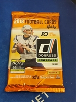 Dead Pack 2018 Donruss Football