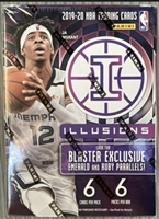 Dead Pack 2019-20 Illusions Blaster Pack Basketball