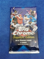 Dead Pack 2019 Topps Sapphire Edition