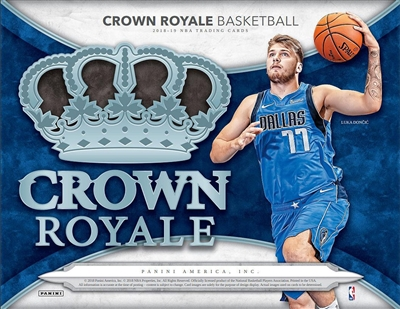 2018-19 Crown Royale BK Box Break #10 DOTD (2 teams)