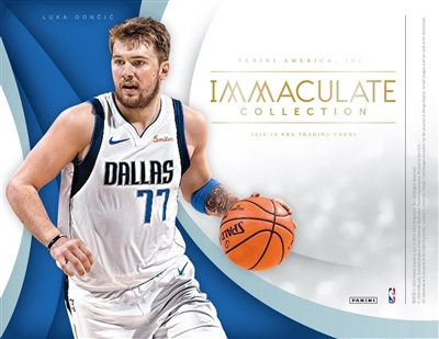 2018-19 Immaculate Case Break #2 (1 team)