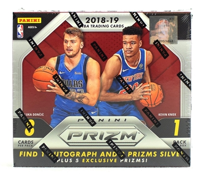 2018-19 Prizm Choice BK Box Break #22 DOTD (2 teams)