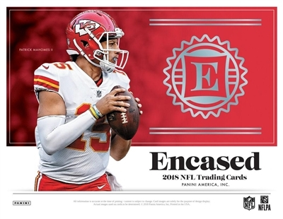 2018 Encased Football #5 FILLER #5 (1 spot)