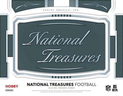 2018 National Treasures Football #9 FILLER #3 (1 spot)