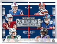 2018 Contenders Football Box Break DOTD #18 (2 teams)