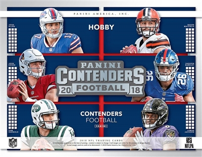 2018 Contenders Football Box Break DOTD #34 (2 teams)
