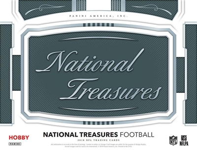 2018 National Treasures 4 Box Case Break #5 (1 Team)