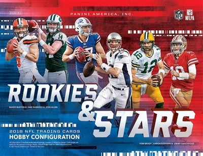 2018 Rookies & Stars Football Box Break DOTD #4 (2 teams)