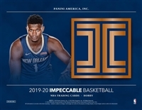 2019-20 Impeccable  #9 FILLER #5 (1 spot)