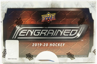 2019-20 UD Engrained Hockey 5 Box Case Break #1 (1 team) Last 4 DPP