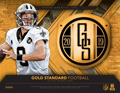 2019 Gold Standard 12 Box Case Break #2 (1 Team) SUPER SALE!