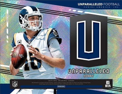 2019 Unparalleled Case Break #1 (1 Team)
