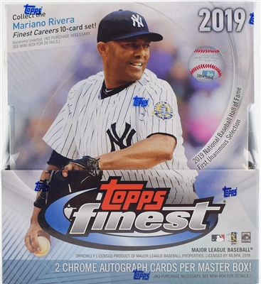 2019 Topps Finest Baseball Case Break #4 (1 Team)