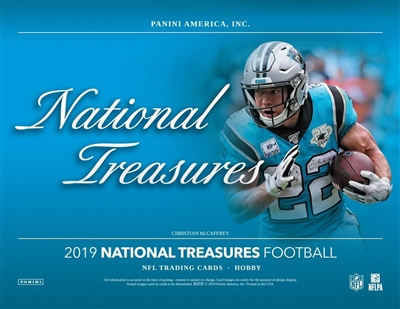 2019 National Treasures Half Case Break #4 (1 Team) Last 4 Draft Pick Protection!