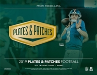 2019 PLATES AND PATCHES #3 FILLER #5 (1 spot)