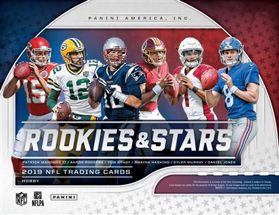 2019 Rookies & Stars Case Break #1 (1 Team)