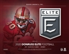 2020 Elite Football 6 Box Half Case Break #3 (1 Team) Last 4 DPP