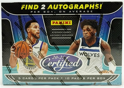 2020-21 Certified Basketball Half Case 6 Box Break #2 (1 team) Last 4 DPP SUPER SALE