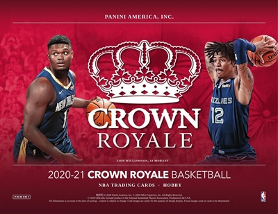 2020-21 Crown Royale Half Case Break #1 (1 team) Last 4 DPP
