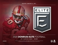 2020 Elite Football 6 Box #3 FILLER #1 (1 spot)