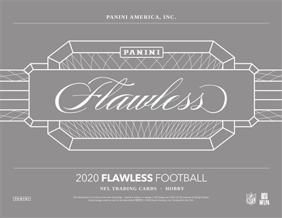 2020 Flawless Football Serial Number Box Break #1 (1 Spot)