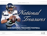 2020 National Treasures Half Case Break Serial Number #2 (1 Spot)