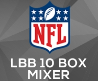 NFL Giveaway 10 Box Mixer #412 (1 team)