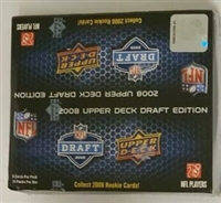 Fresh Pack 2008 UD Draft Edition Retail Football