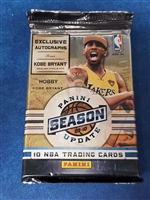 Fresh Pack 2009-10 Panini Season Update