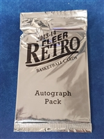 Fresh Pack 2013-14 Fleer Retro Auto Pack Bonus