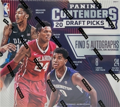 Fresh Pack 2016-17 Contenders Draft