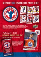 Fresh Pack 2016 National Hockey Day Canada Pack
