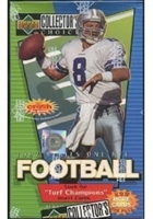 Fresh Pack 1993 UD Collectors Choice Football (3 packs)