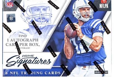 2016 Prime Signatures Football Box Break DOTD #7 (2 teams) No Draft