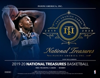 2019-20 National Treasures All Players in Box Break #8 (1 Player) No Draft